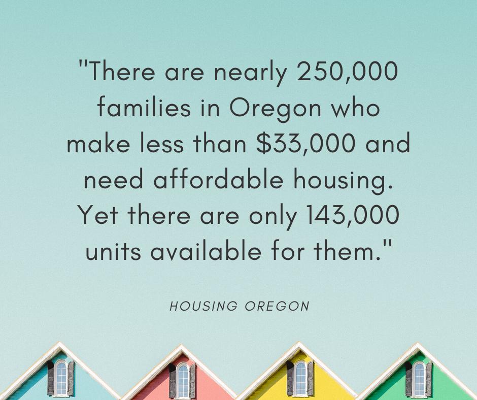 Breaking Down Oregon's Housing Crisis
