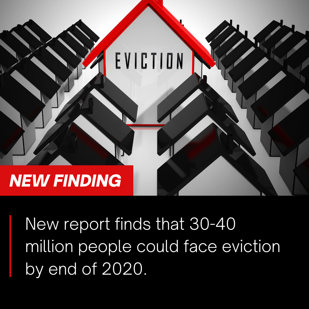 30-40 Million People In America At Risk For Eviction