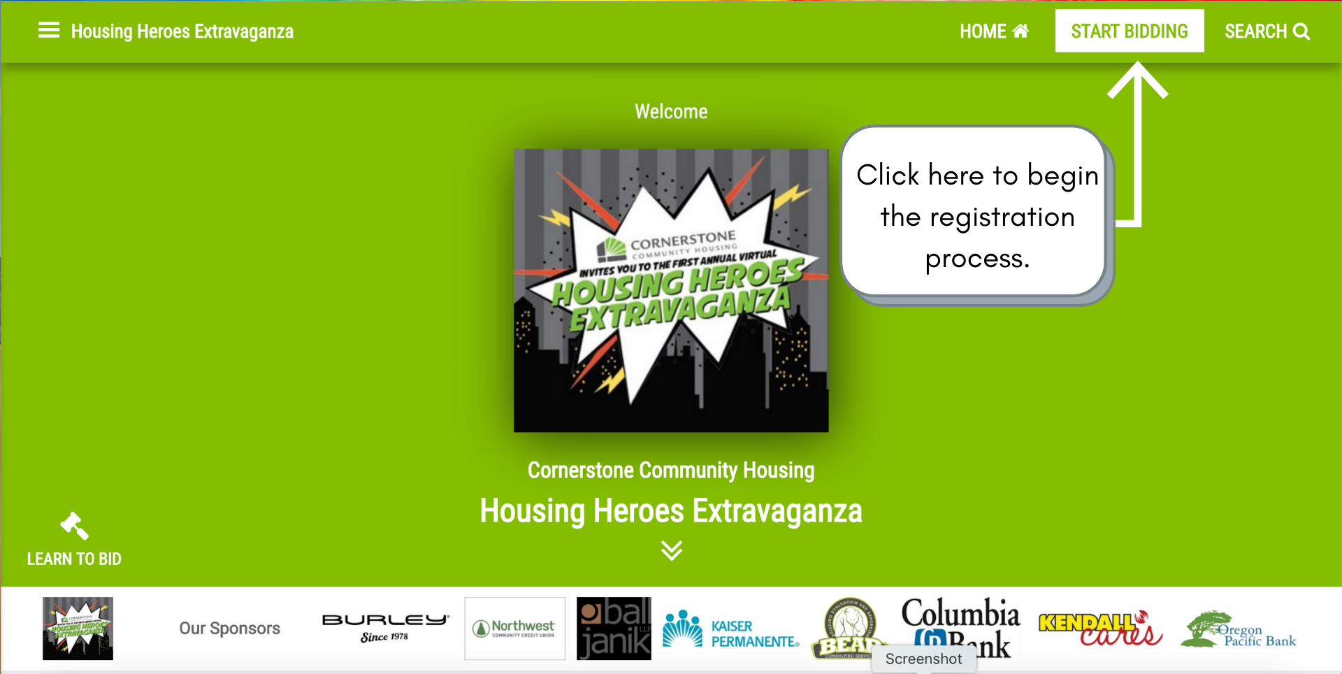 How To Register For The Housing Heroes Extravaganza (Step By Step)